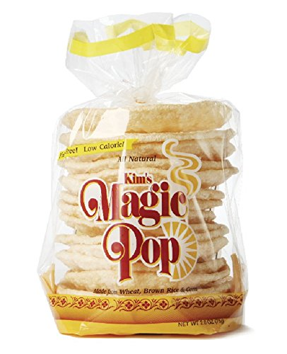 Kim's Magic Pop Original Flavor 6-pack: Freshly Popped Rice Cakes, Healthy Grain Snack, 0 Weight Watchers Point (Pop Rice compare prices)