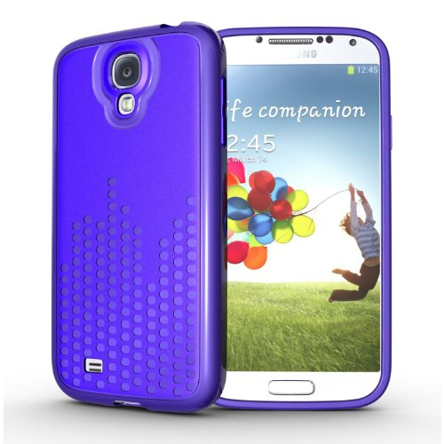 Tudia Ultra Slim Melody Series Tpu Protective Case For Samsung Galaxy S4 I9500 (Purple)