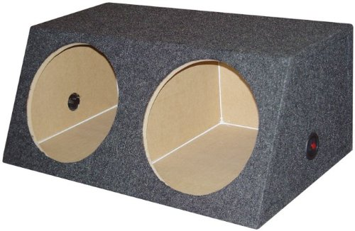 "Dual 15"" Inch Subwoofer Sub Box Two Speaker Enclosure"