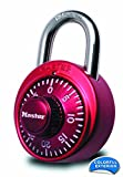 Master Lock 1530DCM X-treme Combination Lock in Red
