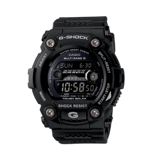 Casio Men's GW7900B-1 G-Shock Solar Atomic Black