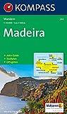 Madeira: Wanderkarte mit Aktiv Guide und Stadtplan. GPS-genau.1:50000 (KOMPASS-Wanderkarten)