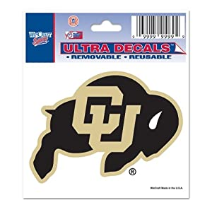 Buy Colorado Buffaloes Official NCAA 3x4 Car Window Cling Decal by WinCraft