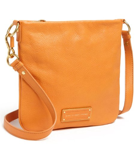 Marc By Marc Jacobs Too Hot To Handle Sia Crossbody Leather Bag, Saffron
