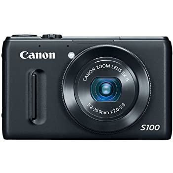 Set A Shopping Price Drop Alert For Canon PowerShot S100 12.1 MP Digital Camera with 5x Wide-Angle Optical Image Stabilized Zoom (Black)