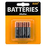 Duracell 4 Pack of AAA Alkaline Batteries