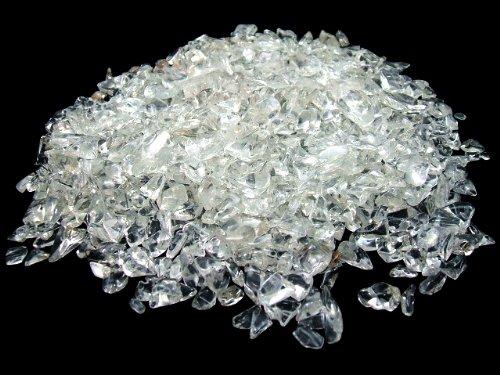 水晶さざれ石チップ500g、パワーストーン浄化 / ビーズアンドジェム