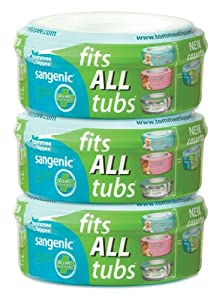 Tommee Tippee Sangenic Compatible Cassette (3-pack)