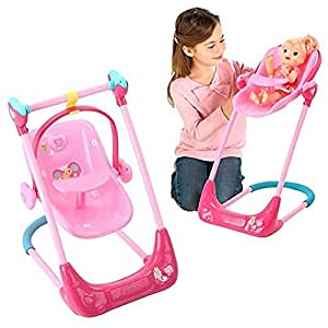 Buy Baby Alive Swing High Chair And Car Seat 3 In 1 Combo