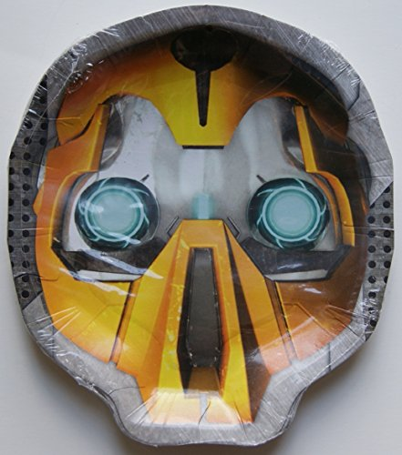 "Transformers 7""x6"" Shaped Lunch Dinner Plates (8 Per Pkg) - 1"