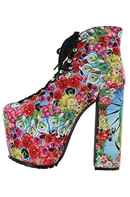 Iron Fist Shoes - Like A Virgin Super Platform High Heel