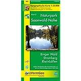 Naturpark Soonwald-Nahe /Binger Wald, Stromberg, Rheinböllen (WR): Naturparkkarte 1:25000 mit Wander- und Radwanderwegen und mit dem Soonwald-Steig