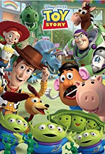 The! (Toy Story) DK-70-019 Let's play the Disney children jigsaw puzzle with 70 pieces (japan import)