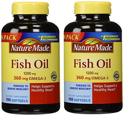 Top best 5 fish oil nature made for sale 2016 product for Fish oil for sale