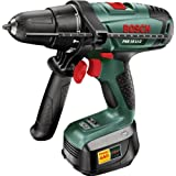 Advanced Bosch PSB 18-2 Lithium Ion Cordless Hammer Drill - 18V with Compact Pen 4 in 1 Pocket Screwdriver