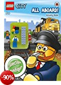 Lego City: All Aboard! Activity Book With Lego Minifigure