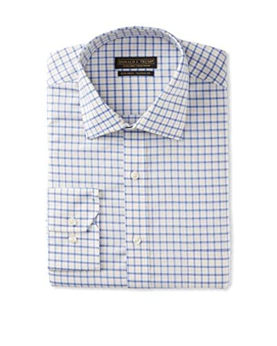 Donald Trump Men's Non-Iron Classic Fit Check Dress Shirt