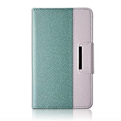 iPad Pro Case,Thankscase Business Rotating Case Cover For iPad Pro 12.9 Inch 2015 Release with Apple Pencil Holder with Wallet with Hand Strap for iPad Pro 12.9in 2015 (Jade Green)