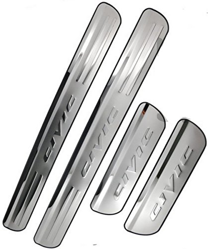 sunroadwayr-4-door-stainless-steel-scuff-plate-door-sill-entry-guard-for-honda-civic-2006-2015