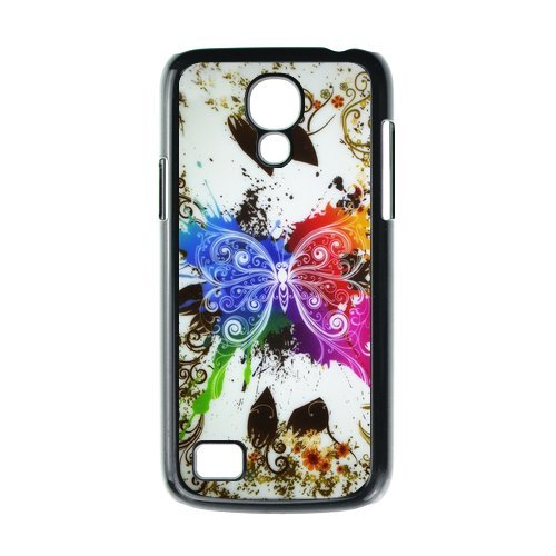 Generic Cell Phone Cases Cover For Samsung Galaxy S4 Mini Case I9192 I9198 Case Fashionable Art Designed With Beautiful Butterfly - K Personalized Shell front-981556