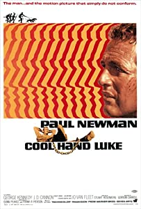 Cool Hand Luke Movie Poster 27x40 Movie Poster