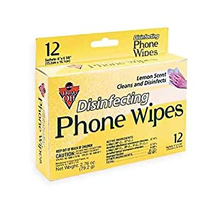 Falcon Disinfecting Phone & office Wipes, 12 ct. (DCPW)