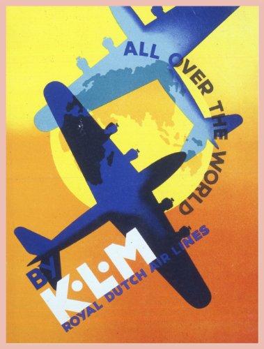 vintage-aviazione-e-viaggi-olanda-in-tutto-il-mondo-con-klm-riproduzione-aviazione-poster-su-200-g-m