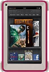 Otter Box Defender Series Standing Case for Kindle Fire, Pink (Built-in Screen Protection)