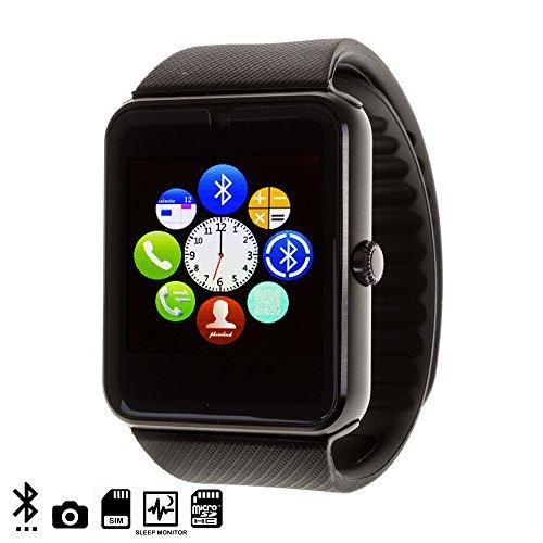 DAM - Gt08 Bluetooth Watch Black