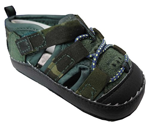 Rising Star Camo Navy Sandals Size 3-6 Months [3012]