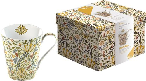 'Flora' Fine Bone China Mug In Gift Box