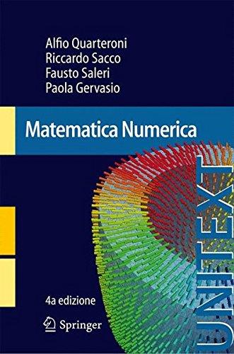 Matematica numerica PDF
