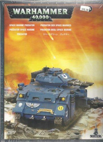 Space Marines Predator Tank Box Warhammer 40K