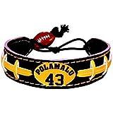 NFL Pittsburgh Steelers Troy Polamalu Team Color Jersey Bracelet