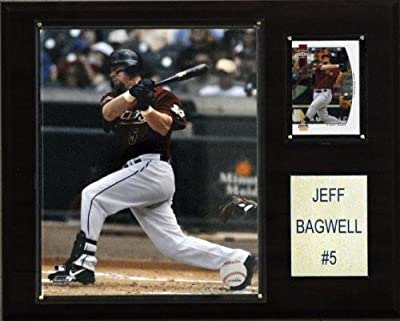 MLB Jeff Bagwell Houston Astros Player Plaque