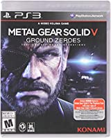Metal Gear Solid V: Ground Zeroes, PS3  edición estándar.