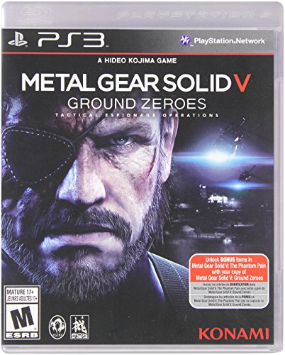 Metal Gear Solid V: Ground Zeroes - PlayStation 3 Standard Edition (Metal Gear Solid 5 Phantom Pain compare prices)