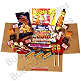 Moreton Gifts - The Small Retro Sweet Box - Perfect Gift Idea - Containing all the Favourites