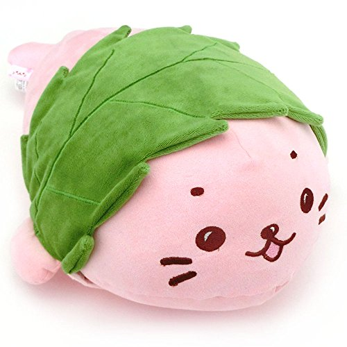 【創業祭限定】 しろたん 桜餅に変身 ぬいぐるみ 42cm 桜もち