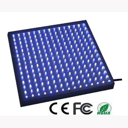 Expower 14W 225 Led Blue + White Light Panel For Growing Indoor Fruit Plants / Flowers + Hanging Kit