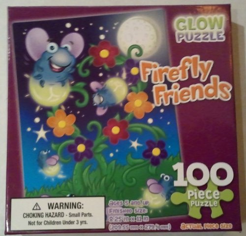 Firefly Friends Glow Puzzle 100 Pc. - 1