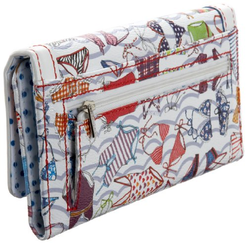 Sydney Love Sunny Days Wallet and Cosmetic Bag Set Case