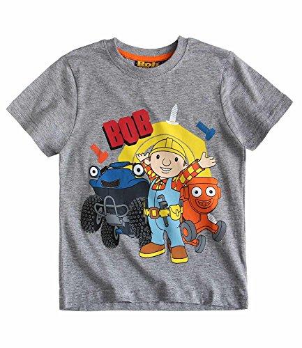 bob-the-builder-chicos-camiseta-manga-corta-gris-140