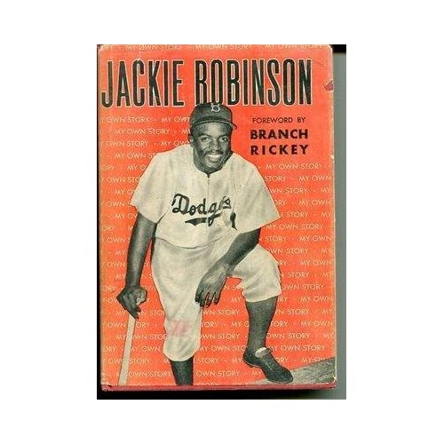 Rachel Robinson Signed Autograph Jackie Robinson My Own Story 1st Ed