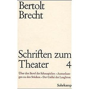 Schriften zum Theater, 7 Bde., Ln, Bd.4, 1933-1947