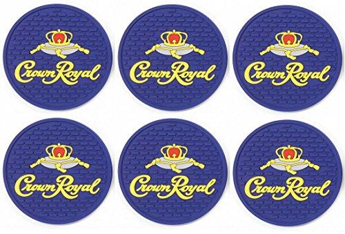 Crown Royal Canadian Whisky Bar Coasters Spill Mats set of 6