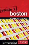 Escale � Boston