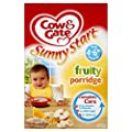 Cow and Gate 4 to 6 Months Baby Balance Fruity Breakfast Cereal 125 g (Pack of 6)