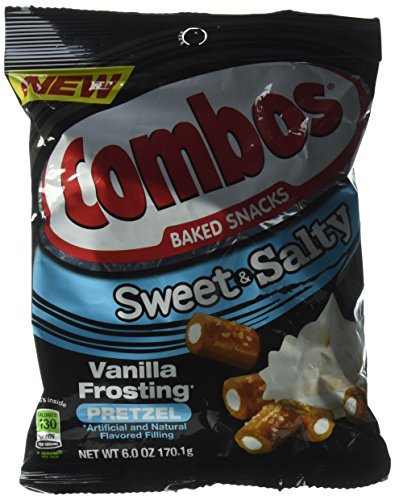 Combos Sweet & Salty Vanilla Frosting Pretzels Pack of 2