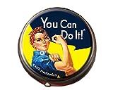 Rosie the Riveter Pill Box Image
